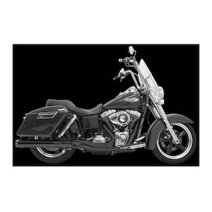 Bassani Road Rage 2-Into-1 Exhaust System For Harley Switchback 2012-2015