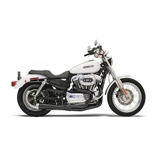 Bassani Road Rage 2-Into-1 Exhaust For Harley Sportster 1986-2003
