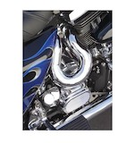 Bassani Power Curve True Dual Crossover Head Pipes For Harley Touring 1986-2006