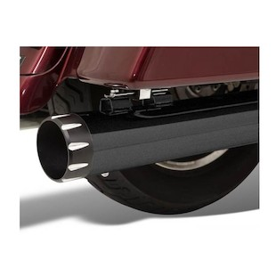 """Bassani 4"""" Quick Change Series Mufflers For Harley Touring And Trike 1995-2015"""