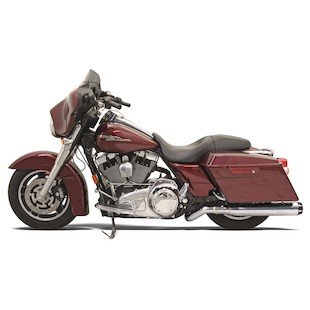 Bassani Road Rage Mega-Power Pseudo Left-Side Muffler For Harley Touring 1995-2008