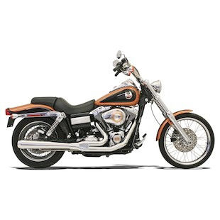 Bassani Road Rage 2-Into-1 Exhaust System For Harley Dyna 2006-2015