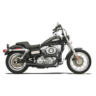 "Bassani Road Rage 2-Into-1 1.75"" Exhaust For Harley Dyna 1991-2017"