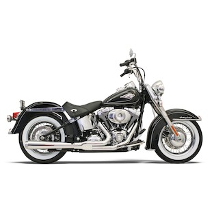 Bassani Road Rage 2-Into-1 Exhaust System For Harley Softail 1986-2015