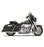 Bassani +P Stepped True-Duals Exhaust System For Harley Touring 1995-2015
