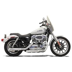 """Bassani 3"""" Firepower Series Slip-On Mufflers For Harley Sportster 2004-2013"""