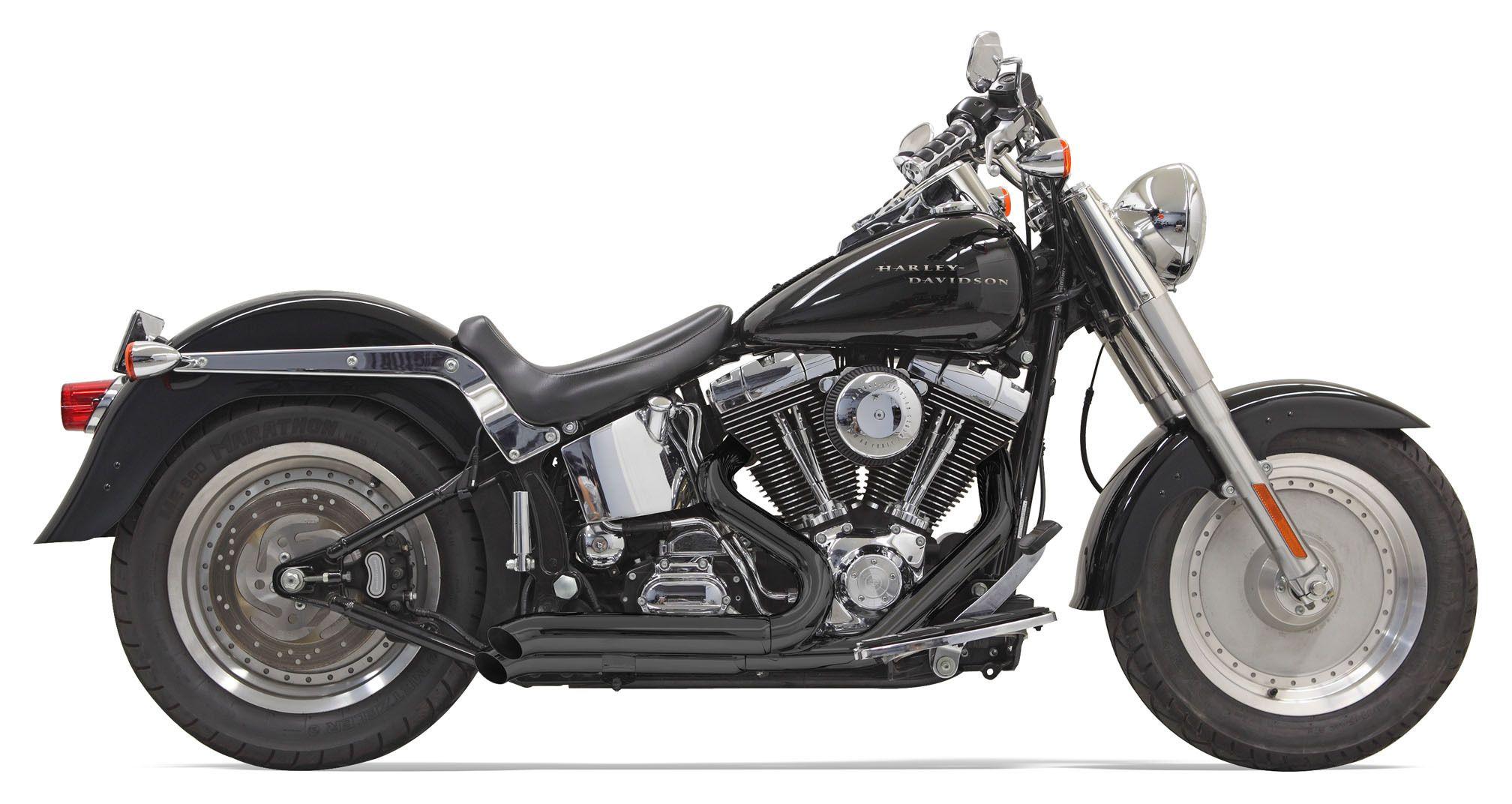 Bassani Pro Street Exhaust For Harley Softail 1986 2017 Revzilla