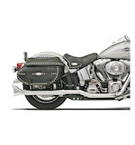 "Bassani ""Hutch Special"" True Dual Mufflers For Harley Softail 2000-2017"