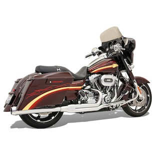 Bassani Road Rage 2-Into-1 Exhaust System For Harley Touring 2010-2015