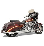 Bassani Road Rage 2-Into-1 Exhaust System For Harley Touring 2010-2014