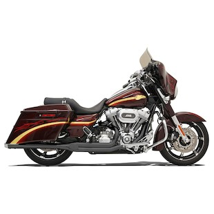 Bassani Road Rage 2-Into-1 Exhaust For Harley Touring 2010-2016