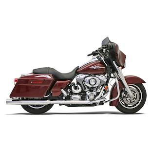 """Bassani 3 1/2"""" Mufflers For Harley Touring 1995-2016"""