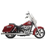 "Bassani 4"" Mufflers For Harley Switchback 2012-2014"
