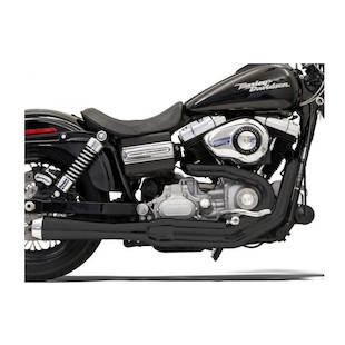 Bassani Road Rage 2-Into-1 Exhaust System For Harley Dyna 1991-2005