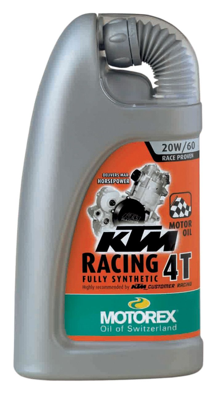 Motorex Ktm Racing 4t Engine Oil 10 2 95 Off Revzilla