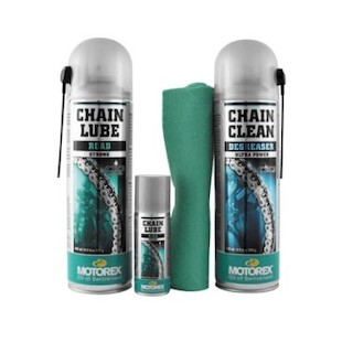 Motorex Road Chain Clean Care Kit