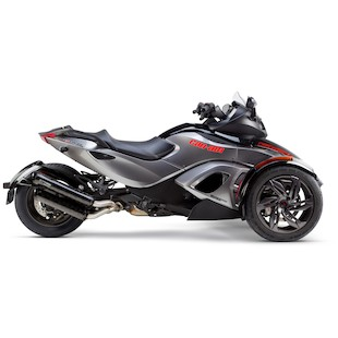 Two Brothers M-2 Black Series Slip-On Exhaust Can-Am Spyder RS / ST 2013-2014