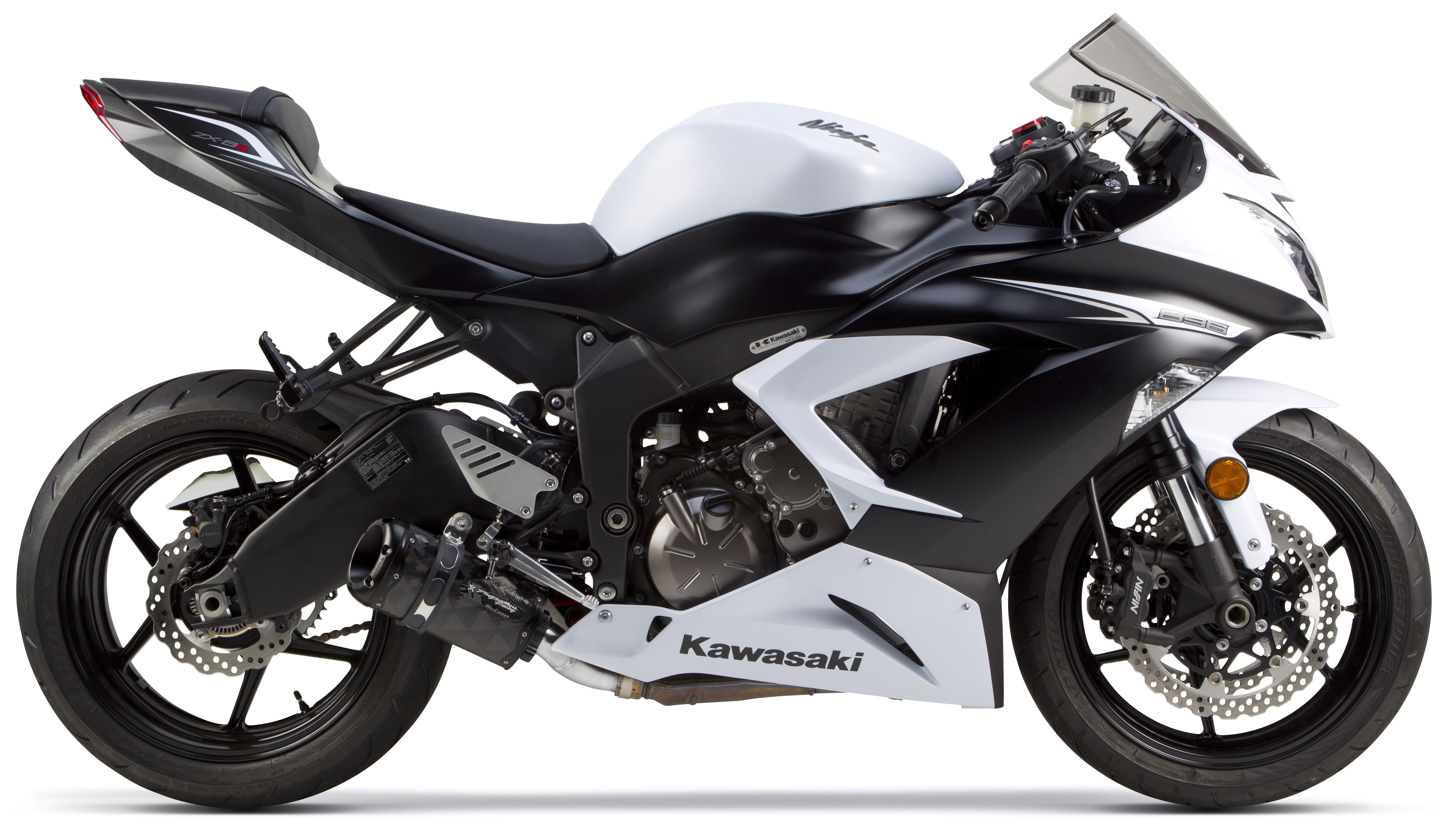 Two Brothers M2 Black Series Slip-On Exhaust Kawasaki ZX6R / ZX636 ...