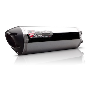Two Brothers M-2 VALE Silver Series Slip-On Exhaust Honda CBR500R/CB500F/CB500X 2013