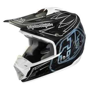 Troy Lee SE3 Carbon Pinstripe Helmet