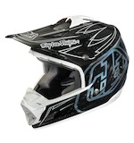 Troy Lee SE3 Carbon Pinstripe Helmet
