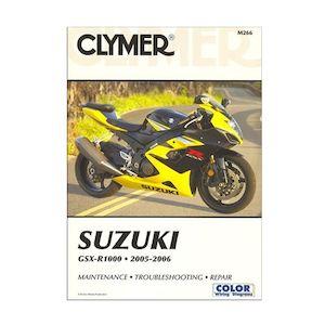 Clymer Manual Suzuki GSX-R1000 2005-2006