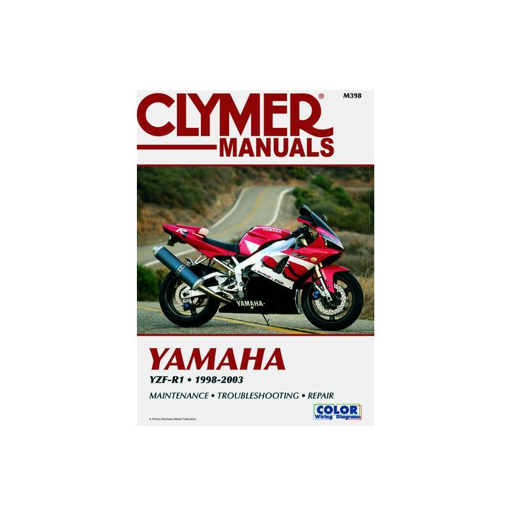 Clymer Manual Yamaha YZF-R1 1998-2003