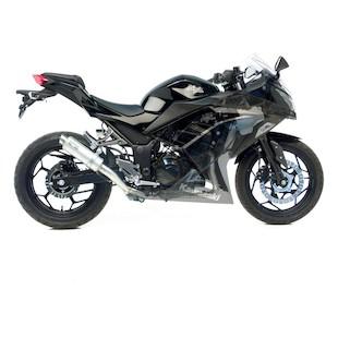 Leo Vince GP Corsa Exhaust System Kawasaki Ninja 300 2013-2015