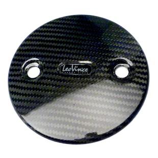 Leo Vince Carbon Fiber Side Covers Yamaha TMax 500 2008-2011