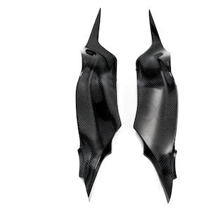 Leo Vince Carbon Fiber Tank Side Covers Kawasaki ZX6R/ZX636 2013