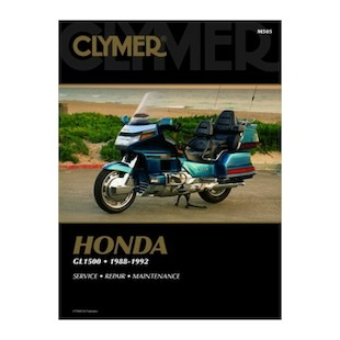 Clymer Manual Honda GL1500 Goldwing 1988-1992