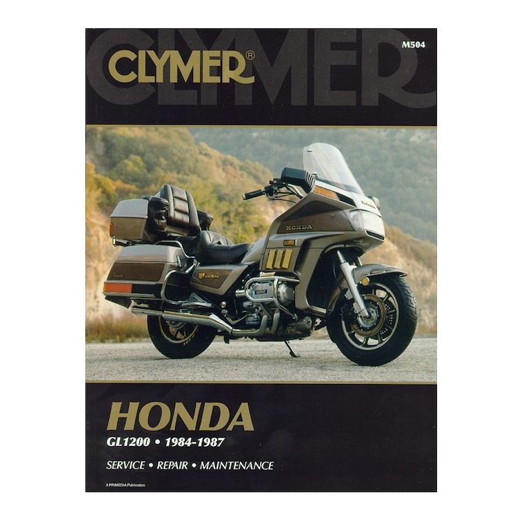 Clymer Manual Honda GL1200 1984-1987