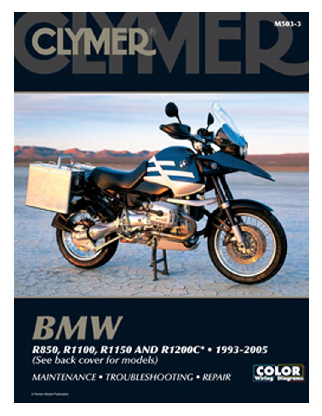 Clymer Manual BMW R850 / R1100 / R1150 / R1200C 1993-2005 | 10% ($5.00)  Off! - RevZilla
