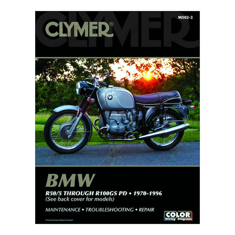 Clymer Manual BMW R Series 1970-1996