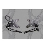 Vortex Adjustable Rearsets Kawasaki ZX6R/ZX636 2013