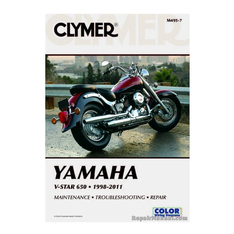 Clymer Manual Yamaha V-Star 650 1998-2011