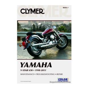 Clymer Manual Yamaha V-Star 650 1998-2011