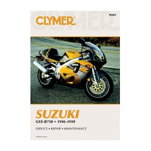 Clymer Manual Suzuki GSX-R750 1996-1999