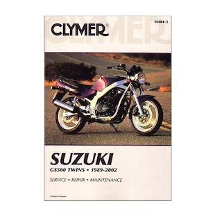 Clymer Manual Suzuki GS500 Twins 1989-2002
