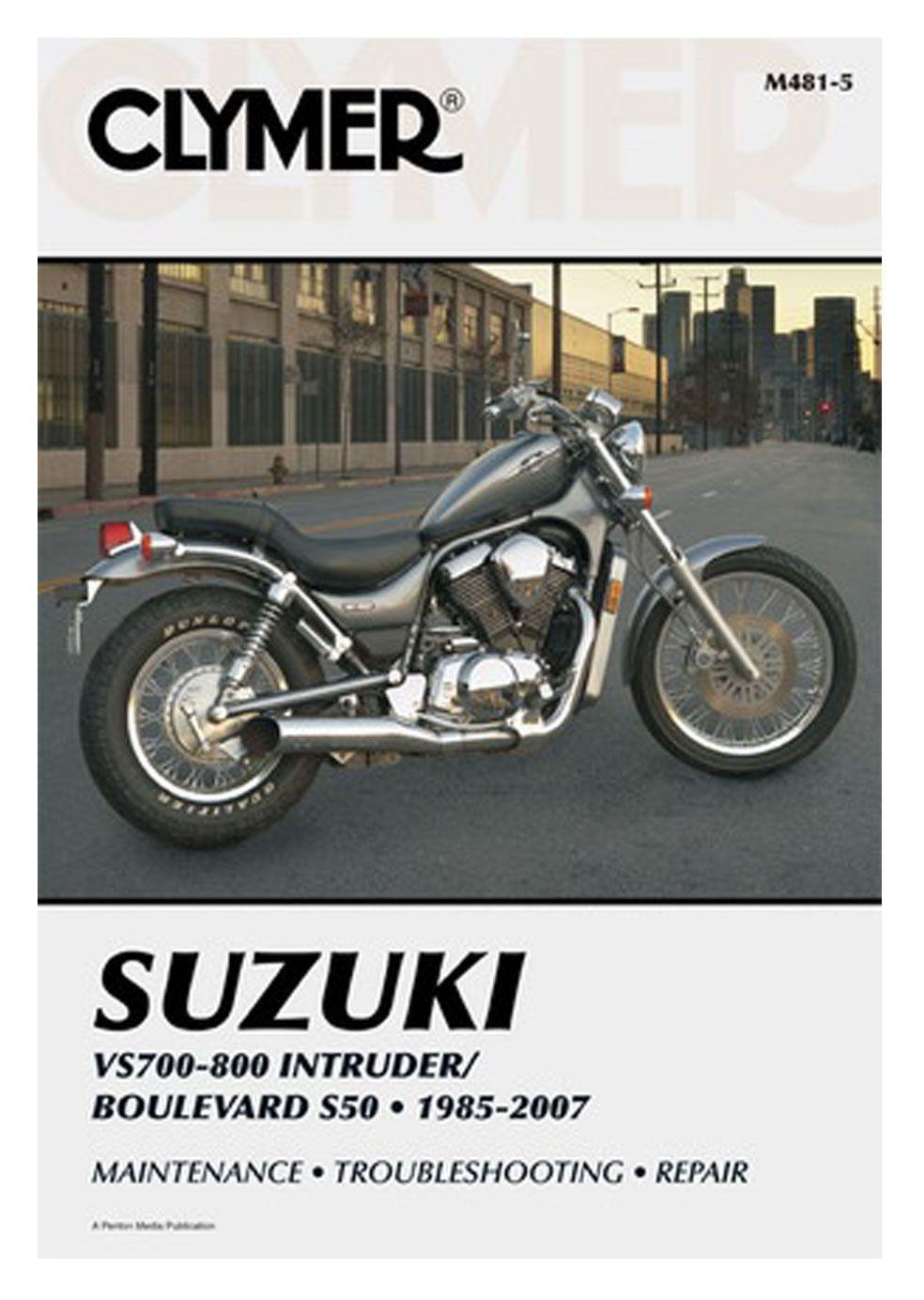 Clymer Manual Suzuki VS700 / VS750 / VS800 / Boulevard S50 | 10% ($3.70)  Off! - RevZilla