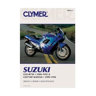Clymer Manual Suzuki GSXR750F / GSX-R750