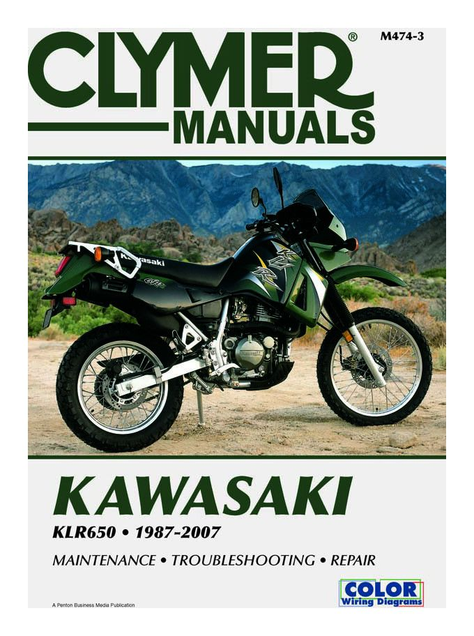 clymer_manual_kawasaki_klr6508707 clymer manual kawasaki klr650 1987 2007 revzilla 2009 klr 650 wiring diagram at gsmx.co
