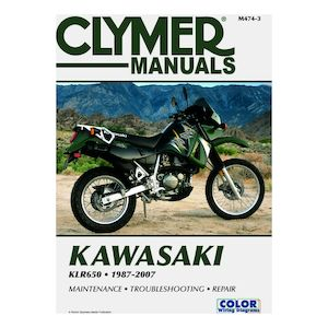 Clymer Manual Kawasaki KLR650 1987-2007