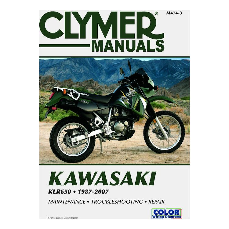 clymer manual kawasaki klr650 1987 2007 10 3 70 off revzilla rh revzilla com 2012 Kawasaki KLR 650 MPG 2015 kawasaki klr 650 owners manual