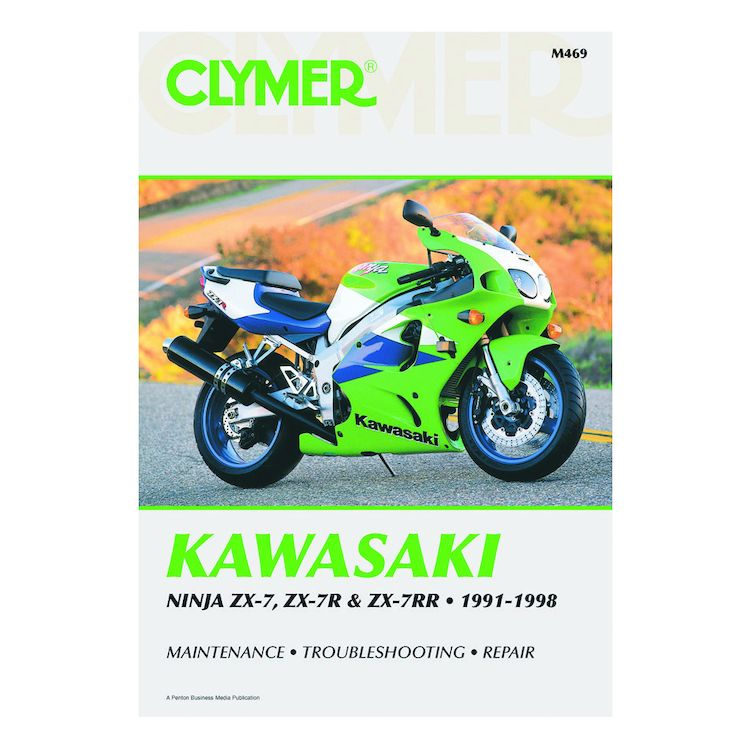 Clymer Manual Kawasaki ZX-7 / ZX-7R / ZX-7RR