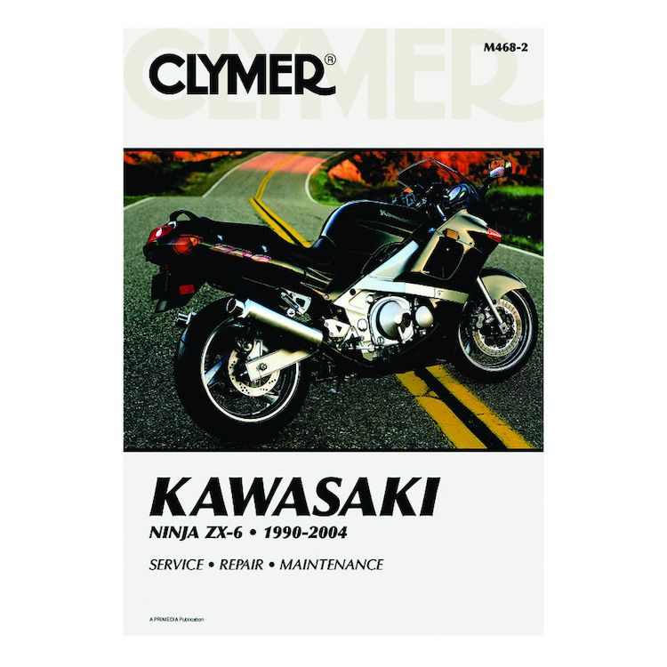 Clymer Manual Kawasaki ZX-6 1990-2004