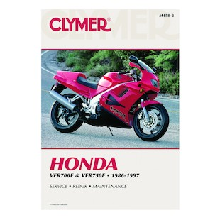 Clymer Manual Honda VFR700F / 750F 1986-1997