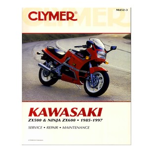 Clymer Manual Kawasaki ZX500 / 600 1985-1997