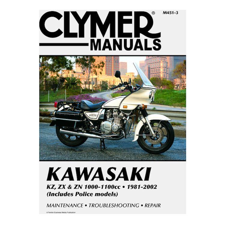 Clymer Manual Kawasaki KZ / ZX / ZN 1000 - 1100 1981-2002