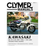 Clymer Manual Kawasaki KZ / ZX / ZN 1000 - 1100 1981-2002